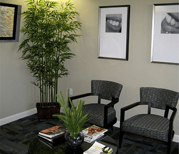 Comfort Waiting area of Asheville Smile Center
