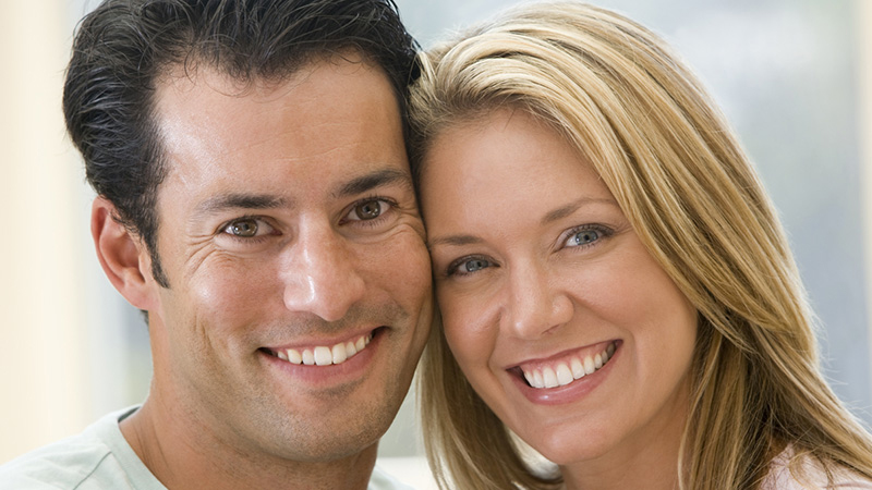 Dentist Asheville  - Image Of smiling couples